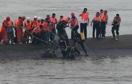 Xác định 14 người thiệt mạng trong vụ chìm tàu ở Trung Quốc