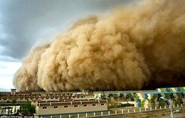 Trung Quốc: Bão cát gây ra hàng chục vụ cháy