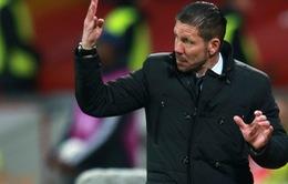"Diego Simeone ""hạnh phúc"" vì thất bại của Atletico Madrid"