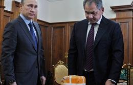 Trình hộp đen máy bay Su-24 bị bắn rơi lên Tổng thống Putin