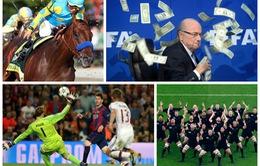 10 khoảnh khắc thể thao ấn tượng nhất 2015