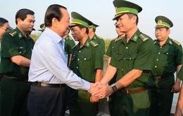 Bí thư Thành ủy TP.HCM thăm, chúc Tết tại huyện Cần Giờ