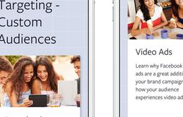 Facebook ra mắt kho tài nguyên đào tạo miễn phí mới cho các nhà tiếp thị
