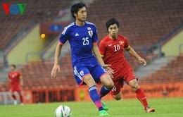 Pha solo ghi bàn mở tỉ số của Nakajima trận gặp O.Việt Nam