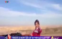 Video bé gái người Kurd sử dụng súng máy gây sốt trên mạng