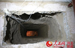 Đào hầm dài hàngtrăm mét để trộm cổ vật