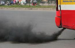 Khó kiểm soát lượng khí thải từ xe buýt