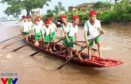 Về Nam Định xem bơi trải độc đáo trong lễ hội chùa Keo