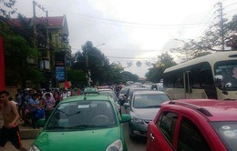 Thanh Hóa: Tắc nghẽn gần 3 km đường ra biển Sầm Sơn