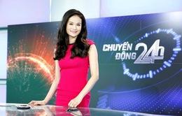 BTV Thu Hương: Làm việc ở VTV24, tôi bỏ được nhiều... tật xấu