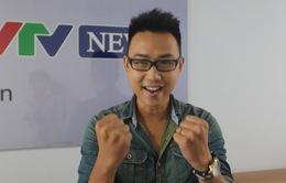 Diễn viên Quang Minh gửi lời chúc tới VTV