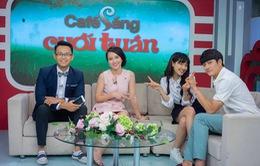 """Kang Tae Oh học tiếng Việt """"nhanh như chớp"""" trong Cafe sáng cuối tuần"""