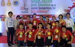 Học sinh Việt Nam đoạt 12 huy chương tại kỳ thi Toán và Khoa học Quốc tế