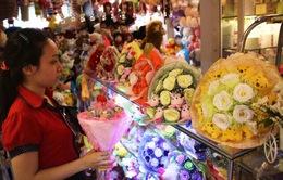 Thị trường quà tặng ngày Lễ tình nhân trầm lắng