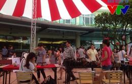 Sôi động Hội chợ mùa thu 2015