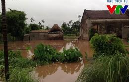 Nam Định bất ngờ ngập nặng sau trận mưa lớn