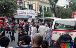 Vụ sập biệt thự cổ Hà Nội: 2 người tử vong, 6 người bị thương