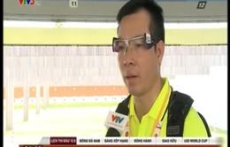 Giành HCV thứ 2, Hoàng Xuân Vinh vẫn thất vọng