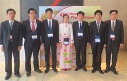 Việt Nam đoạt 3 Huy chương Vàng thi Olympic Vật lý quốc tế
