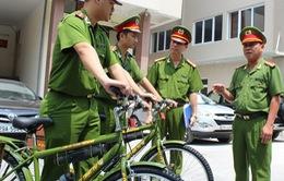 Hà Nội chính thức thí điểm mô hình Cảnh sát tuần tra bằng xe đạp