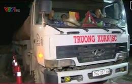 Ủy ban ATGT Quốc gia kiểm tra đột xuất tải trọng xe trên QL5