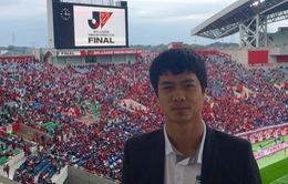 Công Phượng thán phục với đội ĐKVĐ Cúp Quốc gia Nhật Bản
