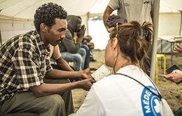 Thiếu thuốc trầm trọng tại trại tị nạn Calais, Pháp
