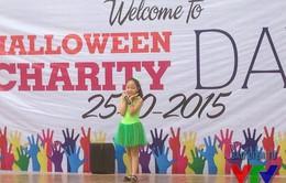 Trẻ em Hà Nội đón Halloween sớm với Hội chợ từ thiện 2015