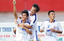 Thắng nhọc Bình Định, U21 An Giang giành vé vào chung kết U21 quốc gia
