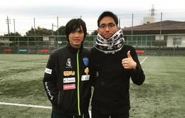 [VIDEO] Tuấn Anh phối hợp ăn ý với các đồng đội tại Yokohama FC