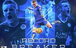 Điểm nhấn vòng 14 Premier League 2015/16: Arsenal lao dốc, Vardy trở thành huyền thoại