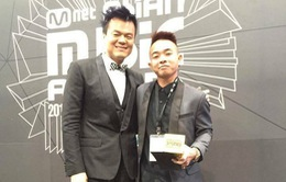 Phúc Bồ nhận giải Best Producer – Bất ngờ lớn nhất tại MAMA 2015