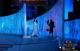 Lan Khuê khóc cạn nước mắt, sững sờ với điểm số trong CK Hoa hậu Thế giới 2015