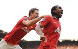 """Anderson chia tay Man Utd, """"về quê"""" thi đấu"""
