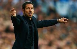 Atletico Madrid thua đau, HLV Simeone vẫn ca ngợi học trò