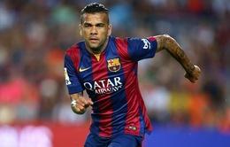 Dani Alves sắp ký hợp đồng với một CLB mới