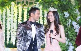 Huỳnh Hiểu Minh và Angelababy tình tứ đón năm mới