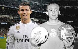 """Ronaldo bị """"chê"""" không toàn diện bằng Di Stefano"""