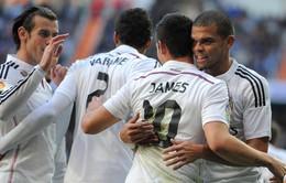 Real Madrid 3-0 Espayol: Chấp người, Kền kền vẫn thắng giòn
