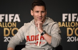 SỐC: Messi lấp lửng chuyện chia tay Barcelona