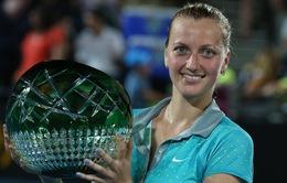 Đánh bại đồng hương, Kvitova đăng quang Sydney International
