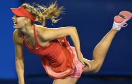 Vòng 2 Úc mở rộng 2015: Sharapova ngược dòng khó tin