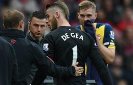 """Tin dữ cho Man Utd: Van Gaal đã """"mặc kệ"""" De Gea"""