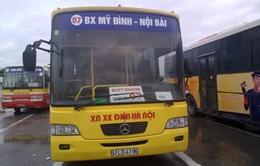 Thêm 3 tuyến xe buýt nối trung tâm Hà Nội và sân bay Nội Bài