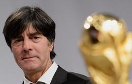 HLV Joachim Loew làm mới hợp đồng với ĐTQG Đức tới năm 2018