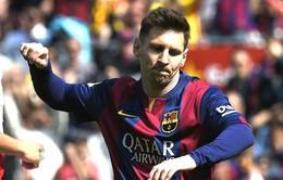 Barca giành ngôi đầu, Messi đi vào lịch sử bóng đá TBN