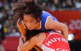 Các đô vật nữ Việt Nam chưa thể giành vé dự Olympic Rio 2016