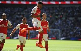 Liverpool bất ngờ nhòm ngó sao thất sủng của Arsenal