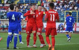 Đè bẹp San Marino, ĐT Anh chính thức đoạt vé dự Euro 2016