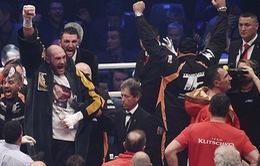 Tyson Fury lật đổ triều đại của 'Tiến sĩ búa thép' Wladimir Klitschko